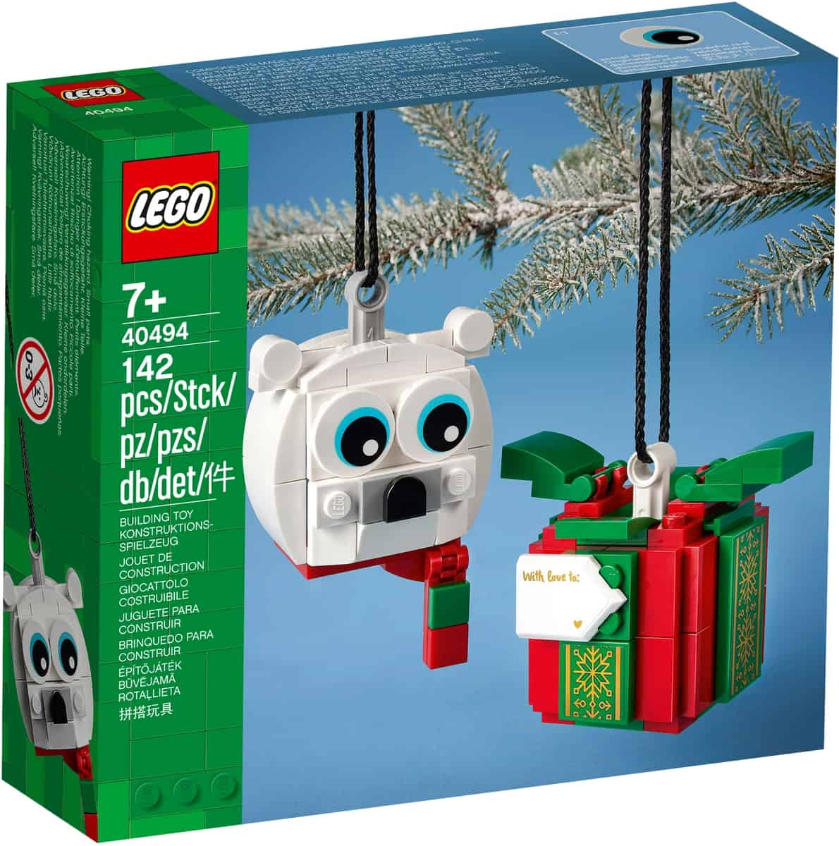 lego 40494 ijsbeer en cadeau pakket