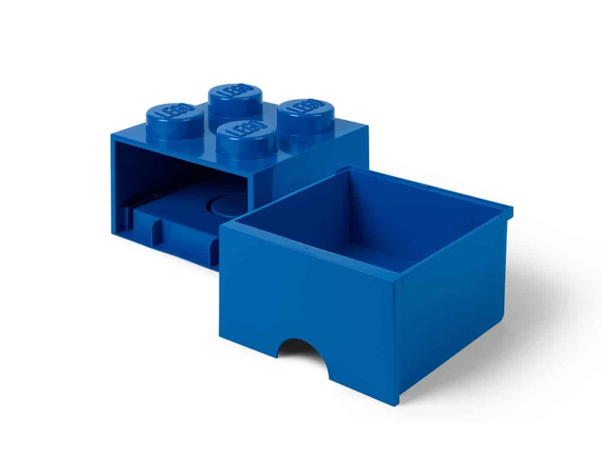 lego 5006130 blauwe opbergsteen met 4 noppen