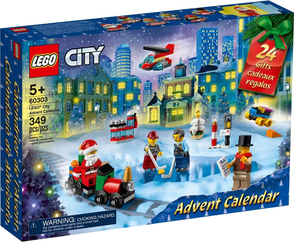 lego 60303 city adventkalender
