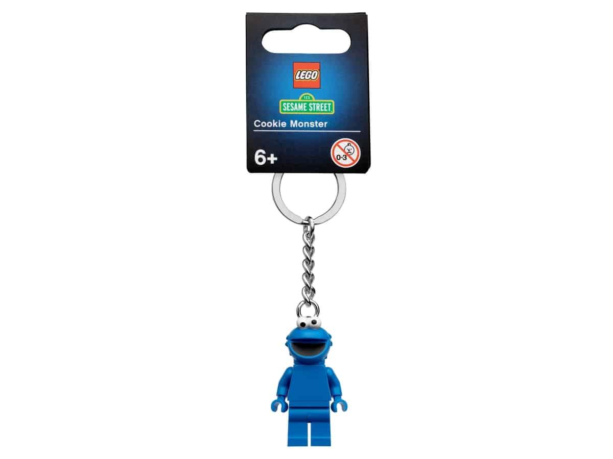 lego 854146 koekiemonster sleutelhanger