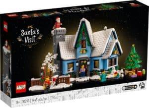 LEGO 10293 Bezoek van de Kerstman