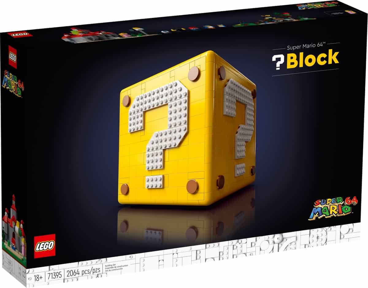 lego 71395 super mario 64 vraagtekenblok